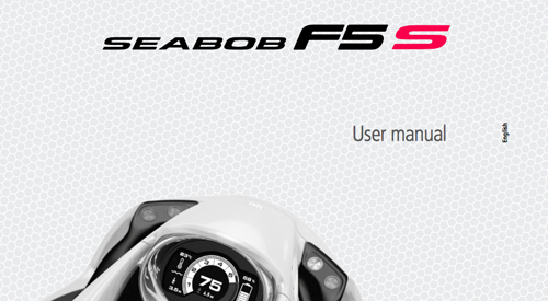 Seabob F5/F5S User Manual